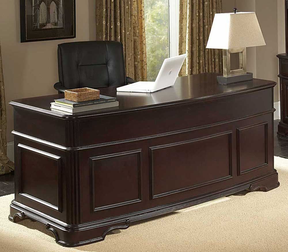 espresso executive desk home office furniture collections