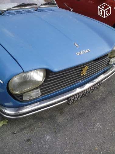 Peugeot 204 break voiture de collection voitures val d 39 oise peugeot oldies - Garage peugeot val d oise ...