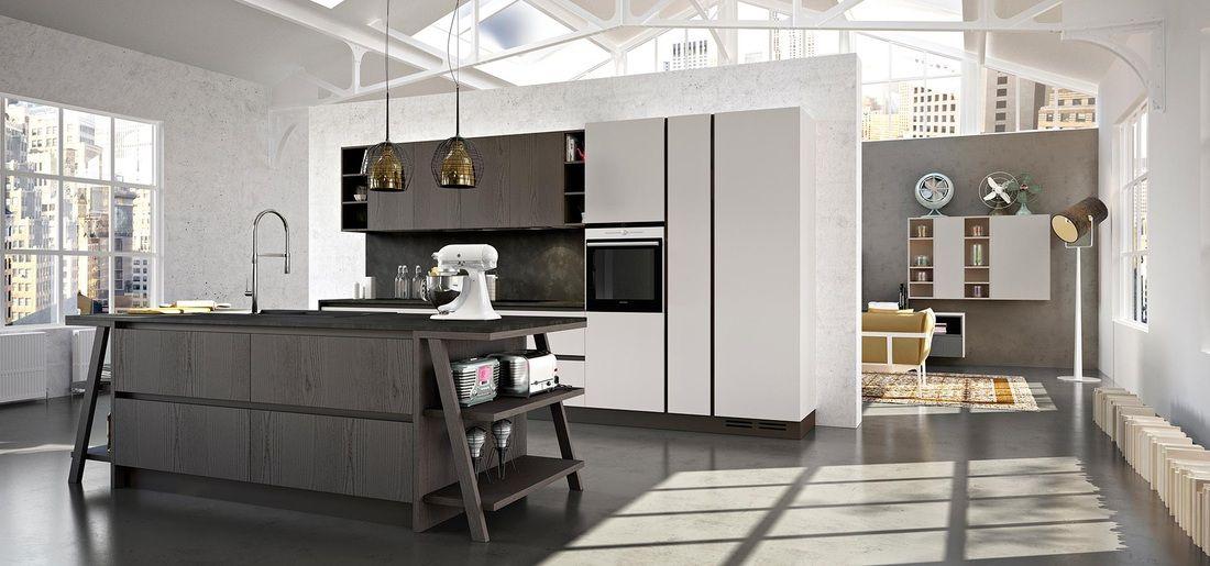 Cucine bianche e nere | Cucine Arredo 3 | Pinterest | Cucine bianche ...