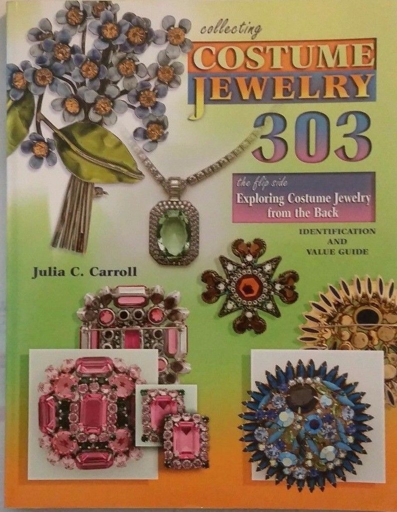 Price Guides and Publications 171122: Collecting Costume Jewelry 303 ...