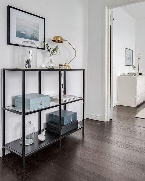ikea vittsj shelf by boninterior living pinterest entr e deco ameublement et idee deco. Black Bedroom Furniture Sets. Home Design Ideas