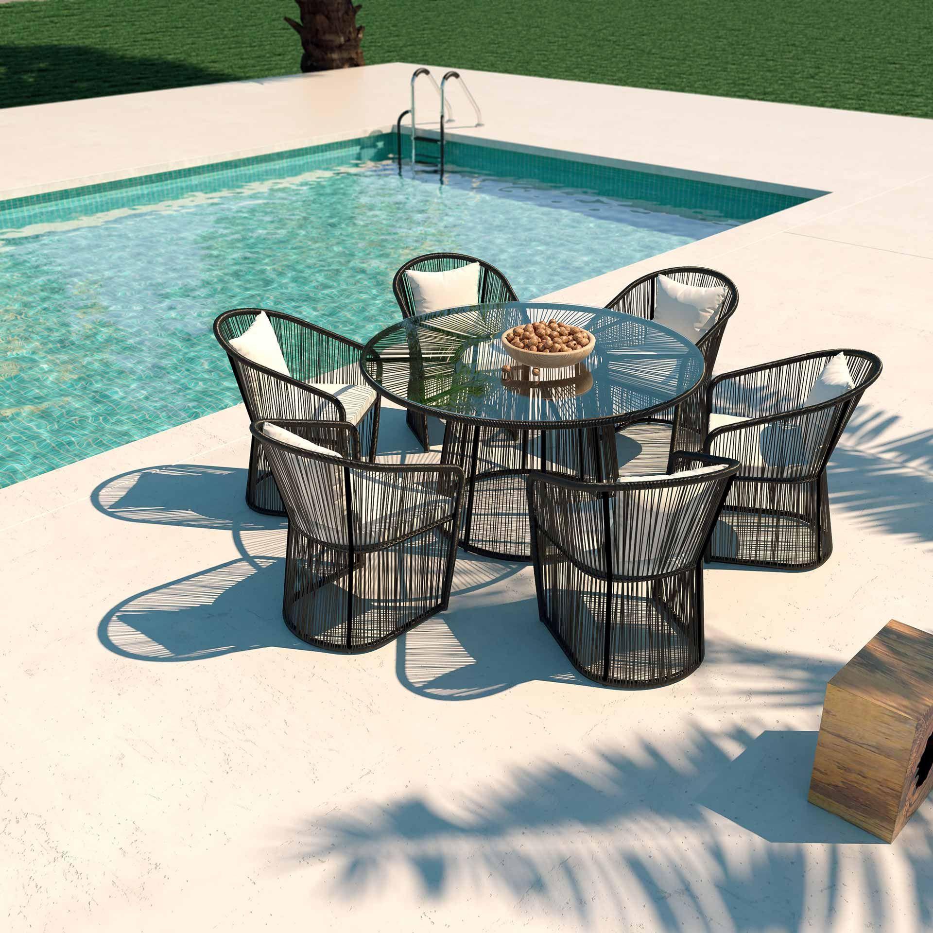 Serena Gartenmobel Esstisch Terrasse