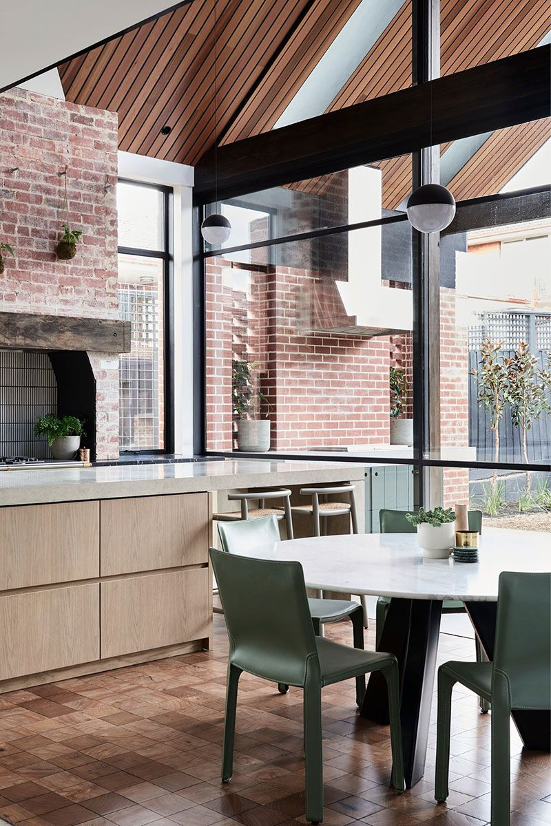 Stylish Modern Reconstruction Of Old Period Home In