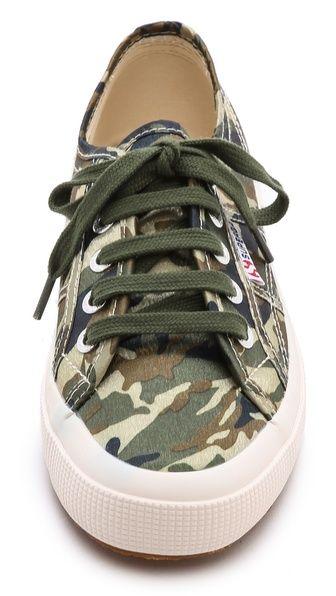 Superga Camo Cotu Sneakers   Sneakers