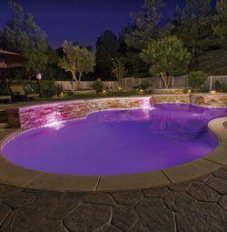 Color splash 3g multi color led pool lighting 120v led - Swimming pool basketball hoop costco ...