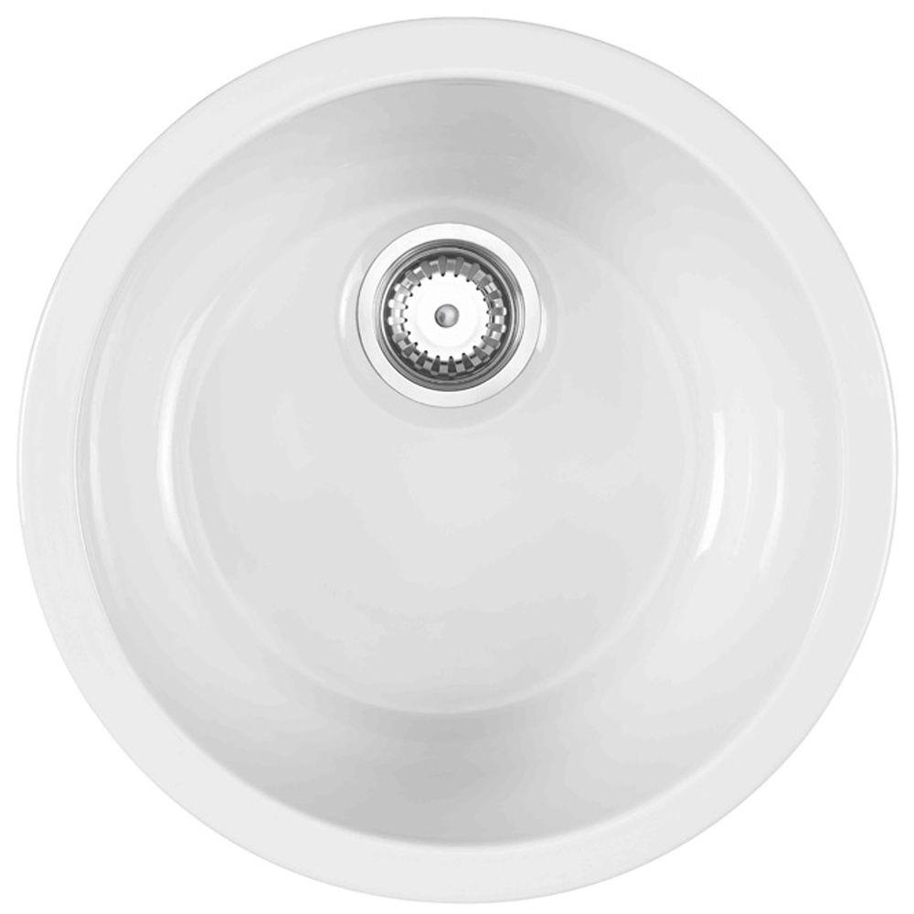 Small Round Ceramic Kitchen Sinks   http://yonkou-tei.net ...