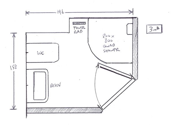 Small ensuite plans interior design for Ensuite plans