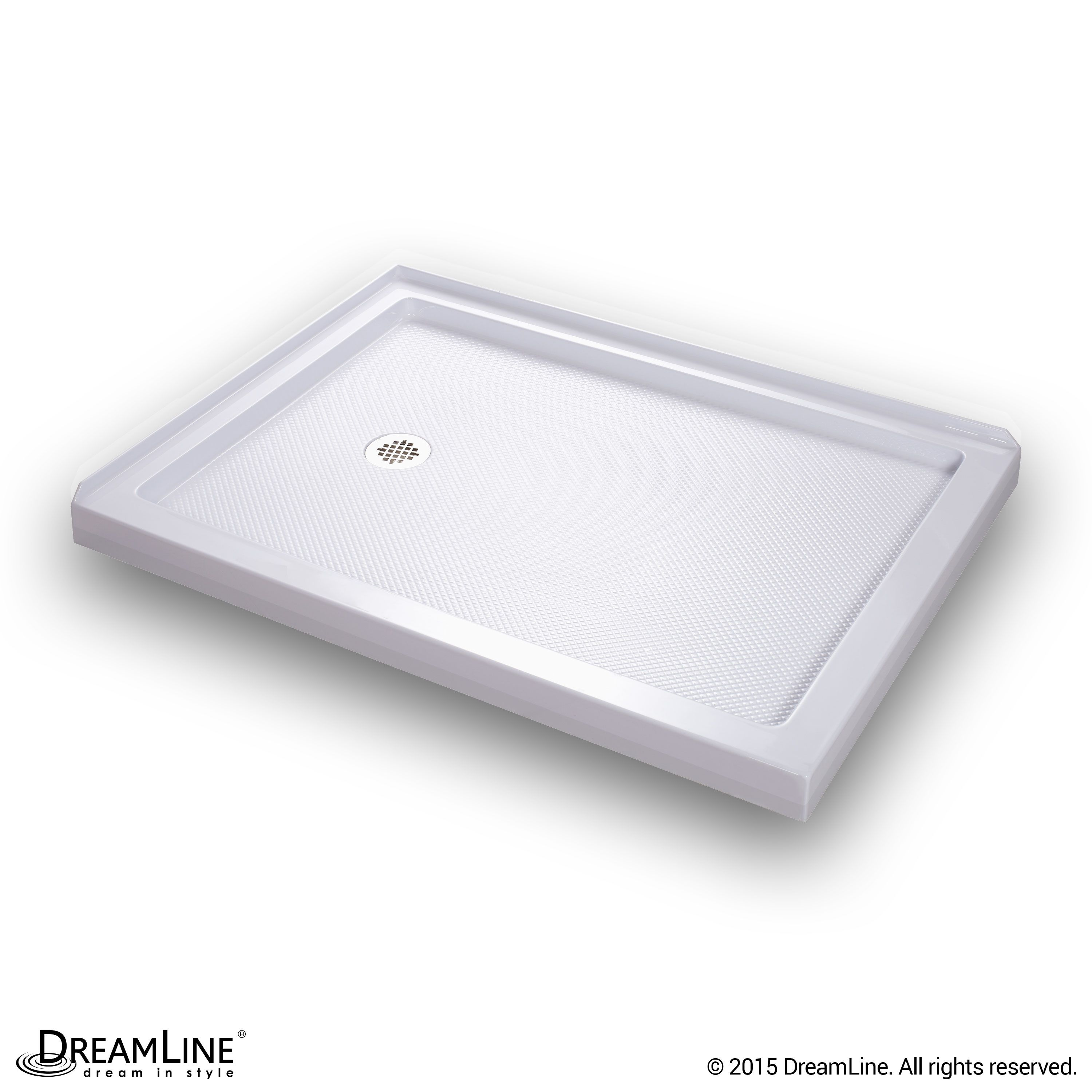 Made Of Attractive High Gloss Acrylic Abs Materials The Bases Are Fiberglass Reinforced For Durability Eac Dreamline Shower Base Dreamline Shower Shower Base