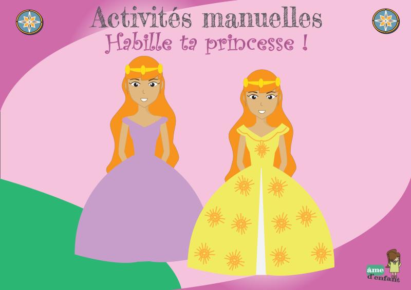 Habille Ta Princesse Robes De Princesse En Papier S Habiller Robe Princesse Princesse
