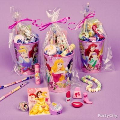 Party Favor Ideas For Girls Birthday Parties Party City Disney