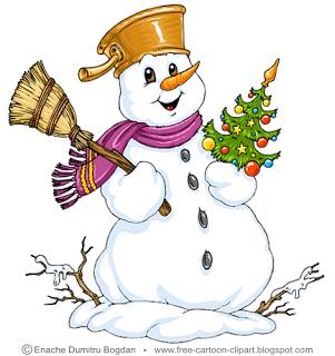 Snowman Cartoon Clip Art Free Cartoon Clipart Snowmen Pictures