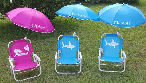 Toddler Beach Chairs Wicker Dining Room Indoor Chair Kids Folding Umbrella Lounge Parties Hey I Found This Really Awesome Etsy Listing At Https Www