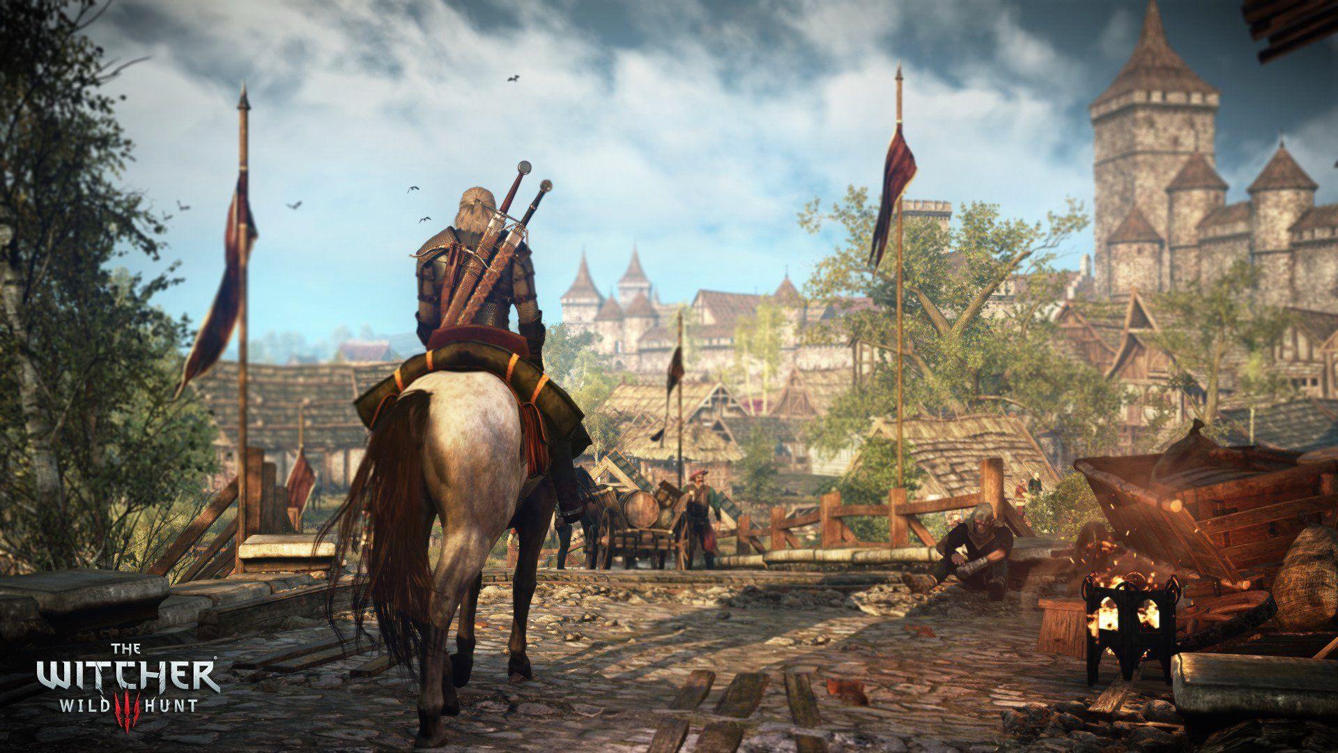 Jeux Vidéo The Witcher 3 Wild Hunt Witcher Hunt Fond D