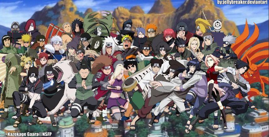 Naruto Characters!!! Naruto shippuden, Otaku anime