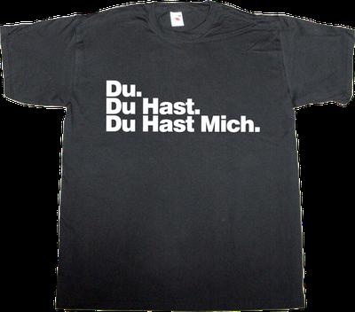 Rammstein. Du Hast Mich @Lisa Daves