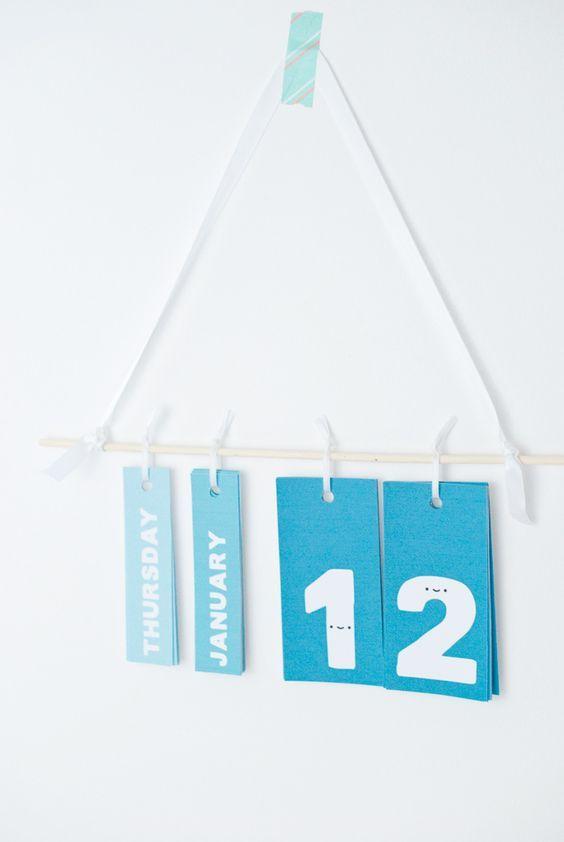 DIY Printable Perpetual Calendar - Perpetual Calendar Template