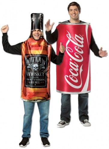 Whiskey And Coke With Lemon
