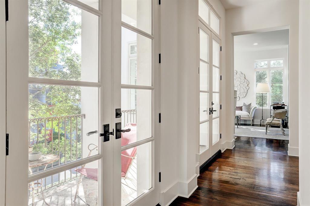 Lovely European Inspired White Interiors In Houston White
