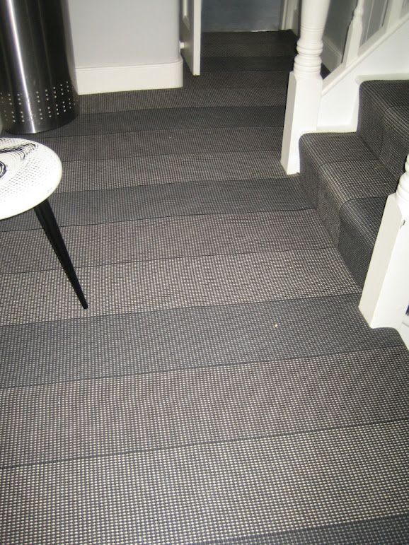 Roger Oates Stair Runner Carpet Joined To Create A Landing Match The Stairs