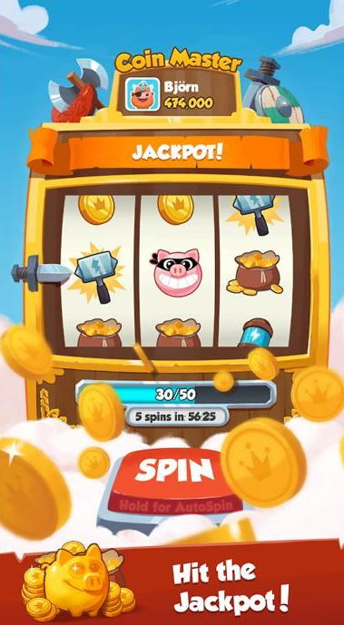Coin Master Free Spins Hit The Jackpot Coin Master Hack Coin Games Coins