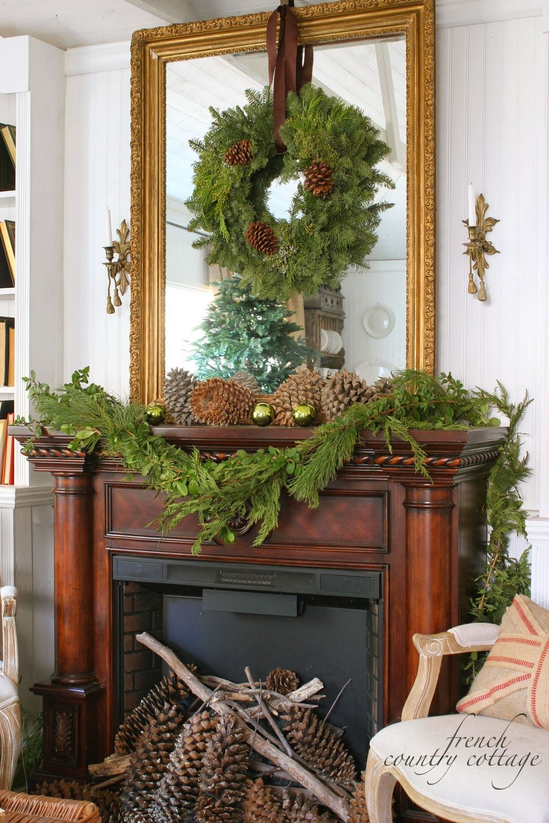 Merry Christmas French Country Cottage Merry christmas