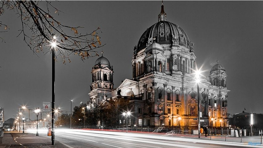 Berlin Night Life Wallpapers Architecture Architecture Building Architecture Wallpaper