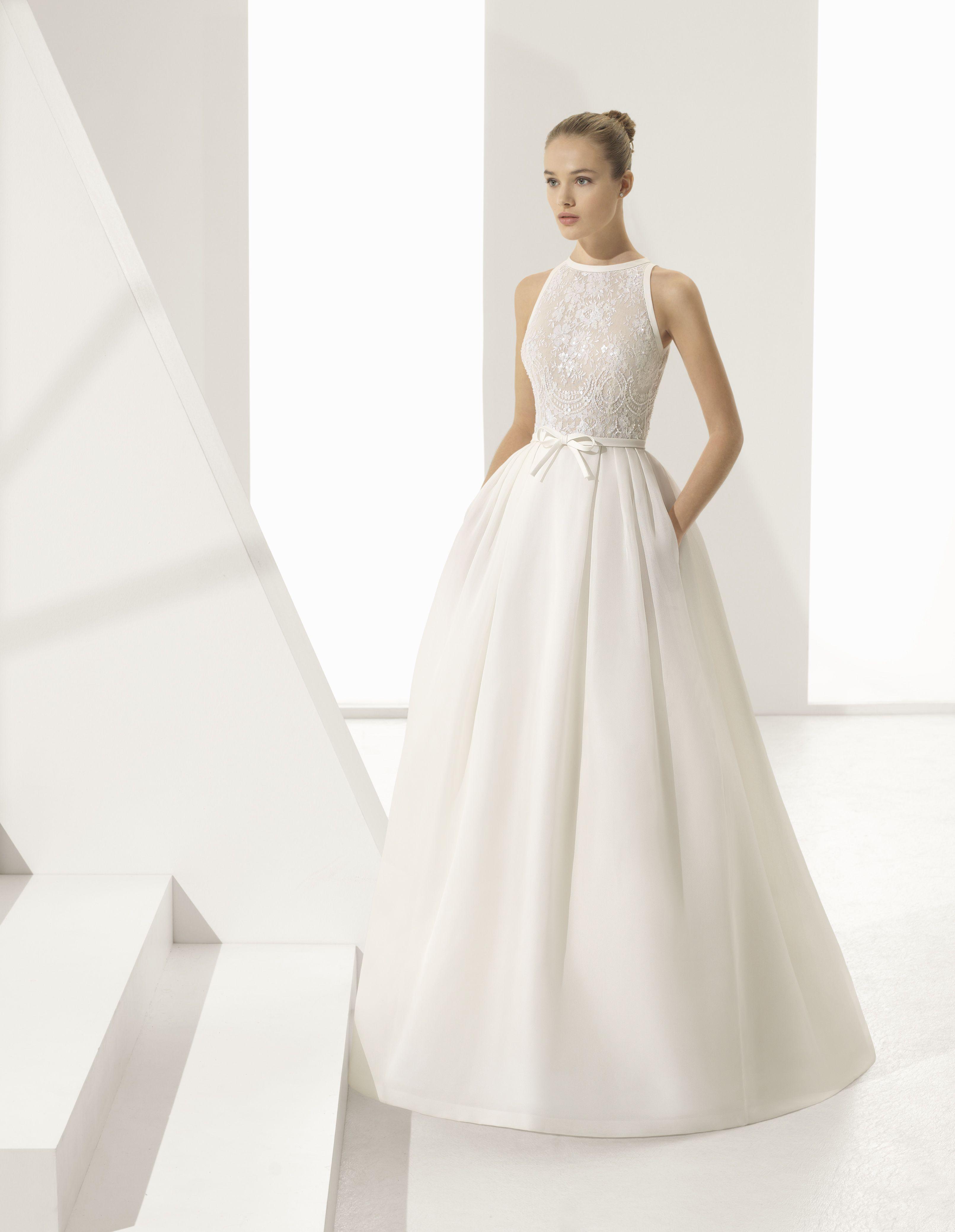 Rosa clará une collection romantique et évocatrice wedding