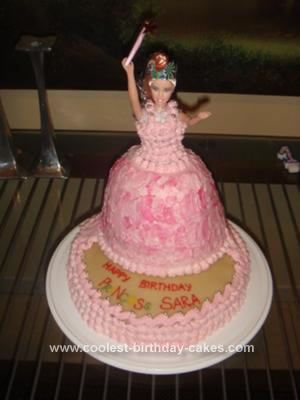 Coolest Princess Birthday Cake Birthday cakes Homemade and Cake