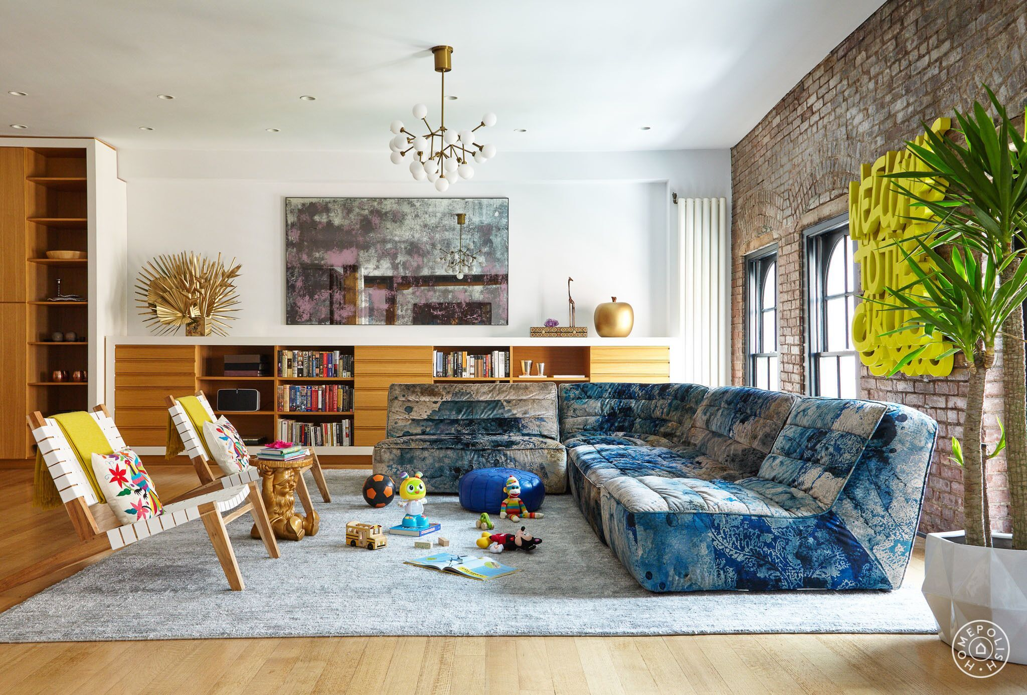 A Moody And Multicolored Tribeca Loft Homepolish Living
