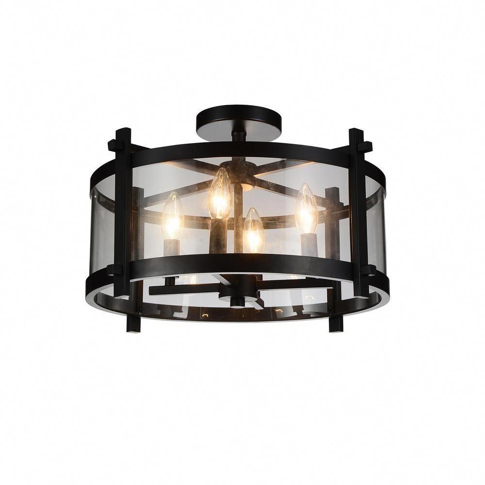 farmhouse kitchen island lighting flush mount