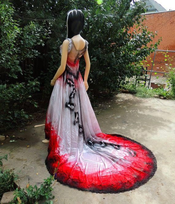 Awesome Vampire Wedding Dresses And New Style Fashion