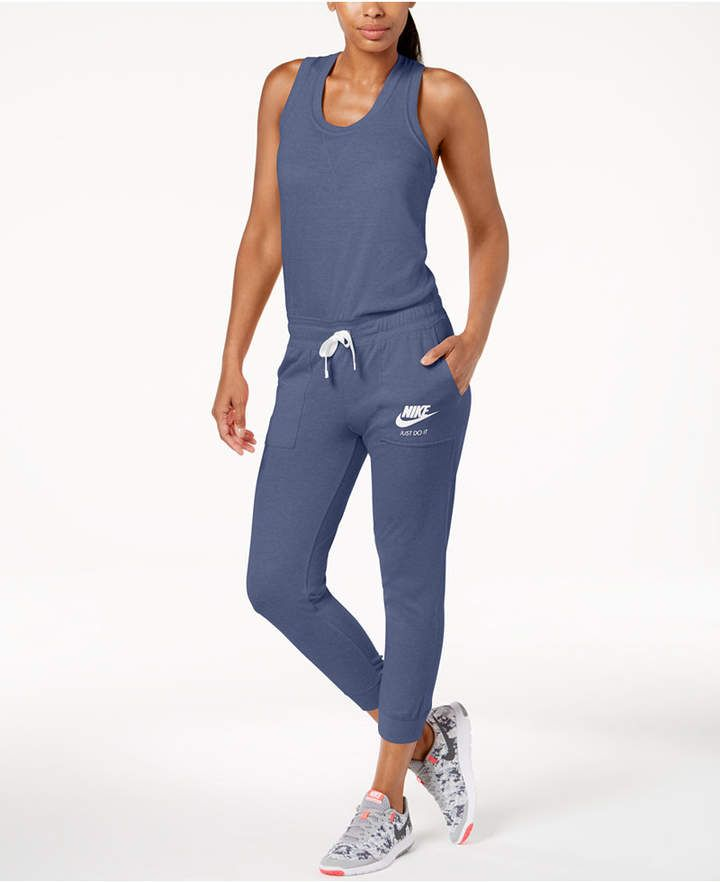 7997a6f8a9d2 Nike Sportswear Gym Vintage Jumpsuit