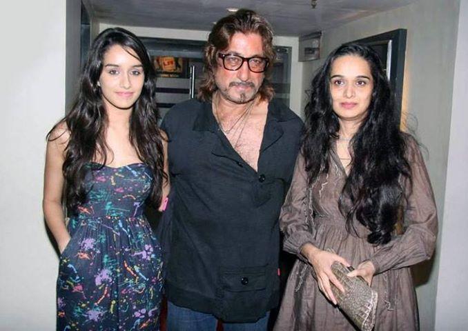 MR & MRS. SHAKTI KAPOOR WITH SHARDHA KAPOOR | Bollywood ...