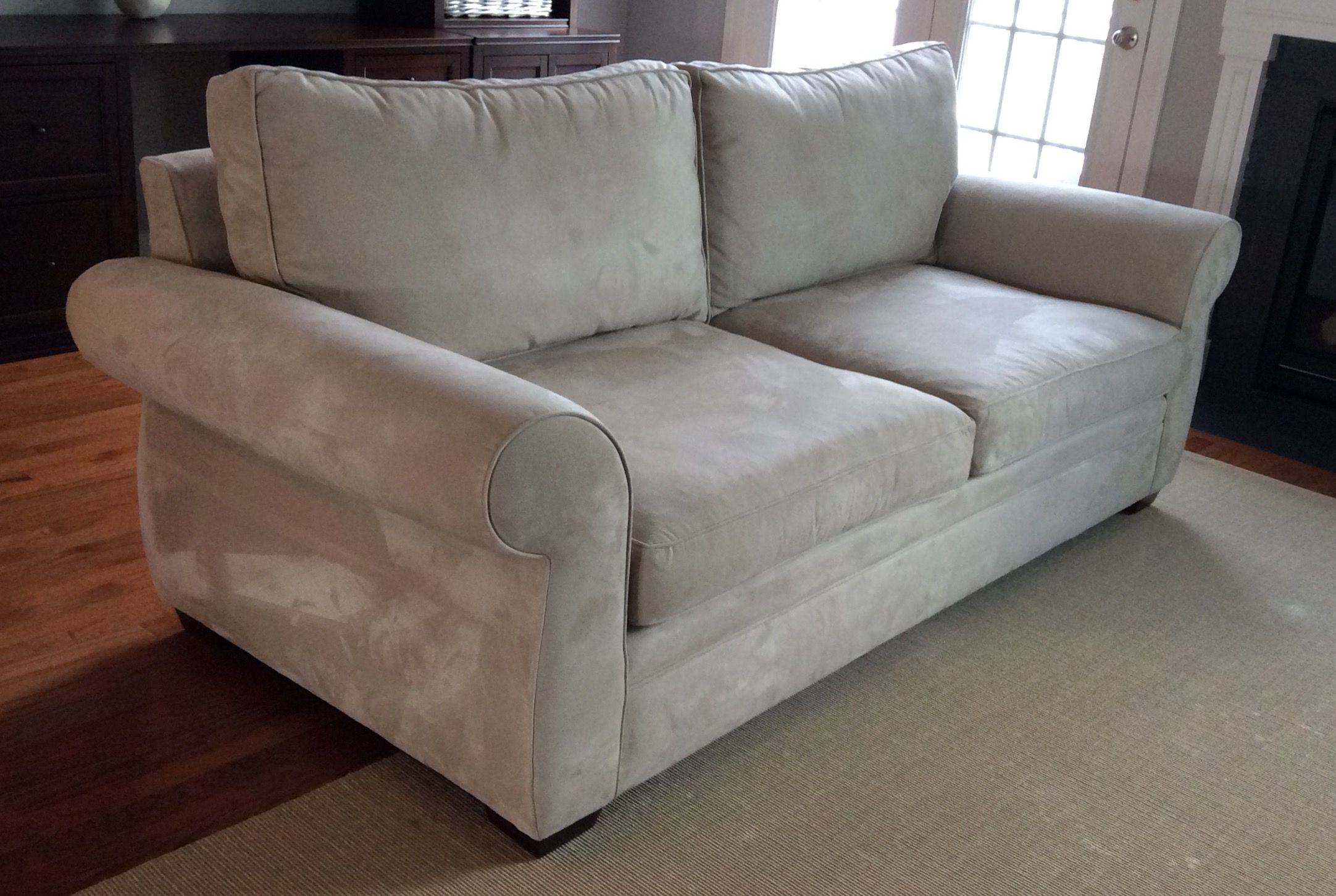Pearce Roll Arm Upholstered Sofa in 2021   Sofa, Upholstered sofa, Pottery barn style
