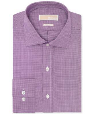Michael Michael Kors Non-Iron Houndstooth Dress Shirt