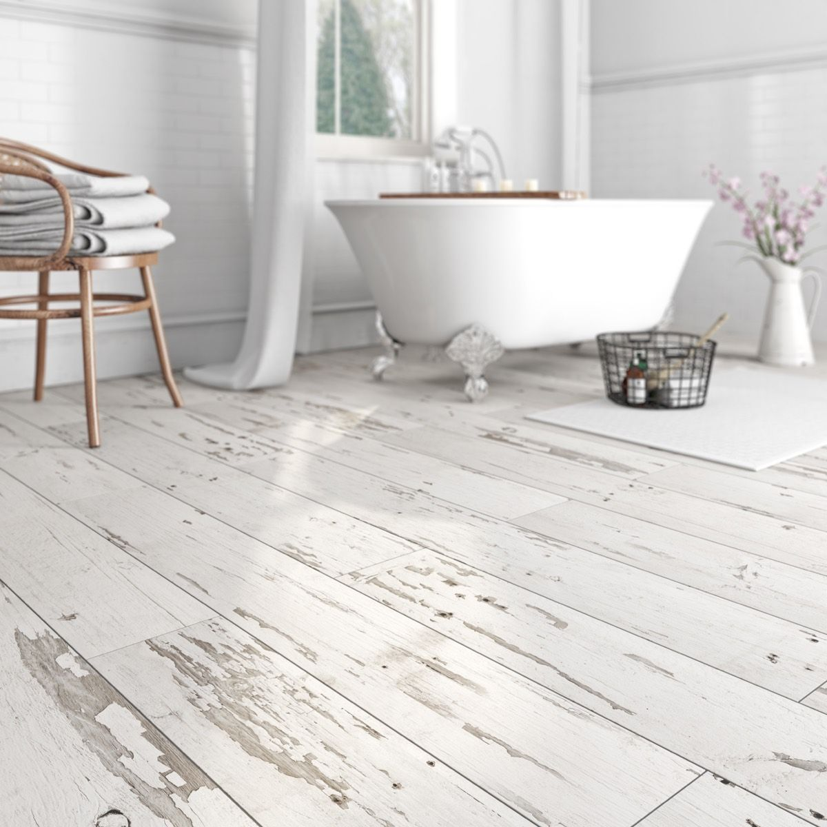 Krono xonic pennsylvania waterproof vinyl flooring for Wood effect vinyl flooring bathroom