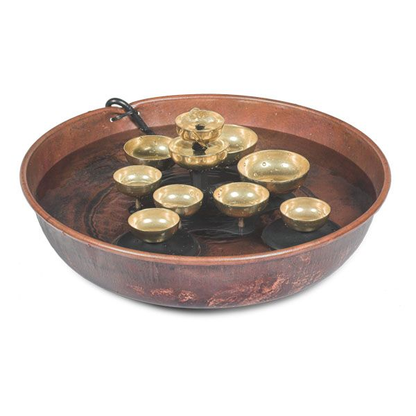 Woodstock Water Bell Fountain WWBF2 by Woodstock Percussion, Inc  for $119.97 in Landscaping - Lawn Ornaments - DEC - Lawn