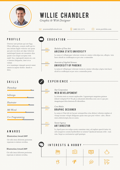 Trocar Web designer resume, Resume design, Web design