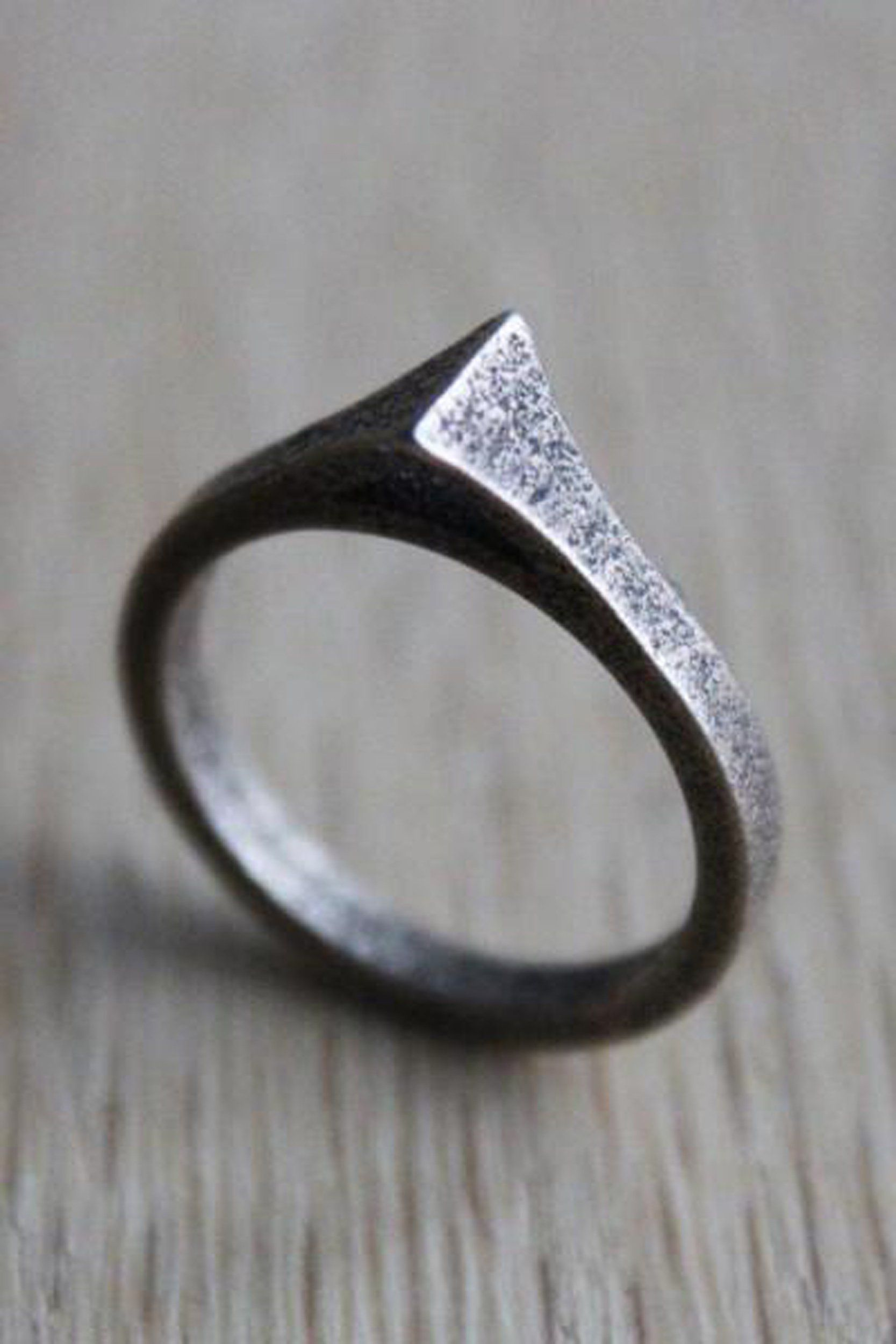 for made ring wedding tricolor or unique buy engagement mens band him hand bronze rings a silver men wave