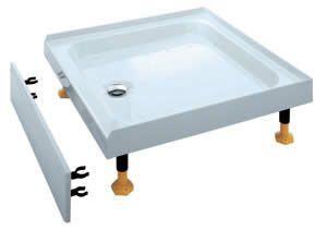 Coram Coratech Shower Tray 800 X 800mm For Alcove Shower Tray Shower Enclosure Shower