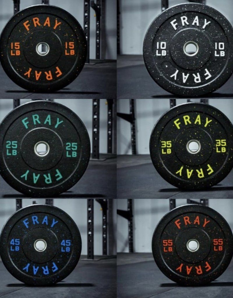 160lb Fray Crumb Rubber Bumper Plate Set In 2021 Rubber Bumper Home Gym At Home Gym