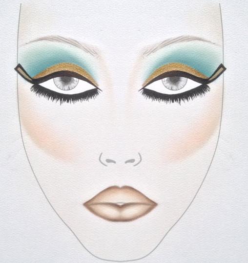 Cleopatra Makeup Tutorial from Inglot   Cleopatra makeup ...