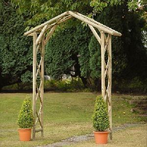 Garden Structures Wooden Arches
