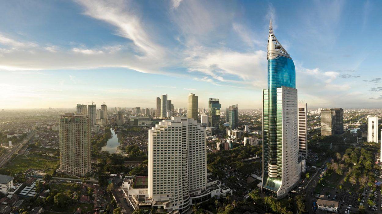 Formula E di 2020 Indonesia, Pencakar langit, Gedung