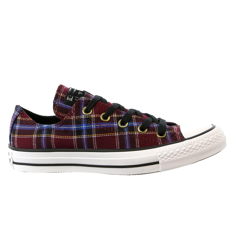Star Plaid Ox Sneaker Shoe - Womens