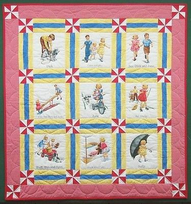 Dick and jane quilt pattern picture 587