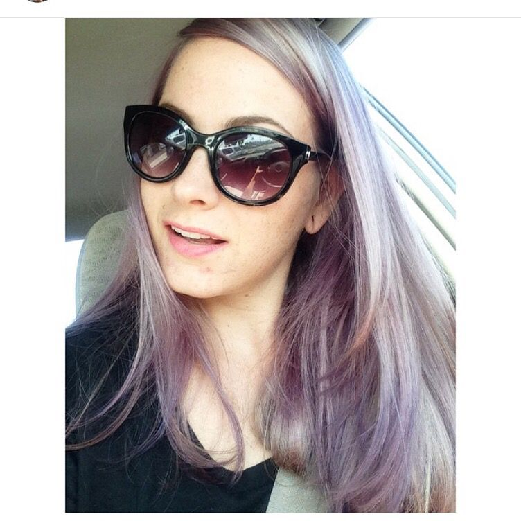 Purple hair goldwell Purple hair, Eye sunglasses, Oval