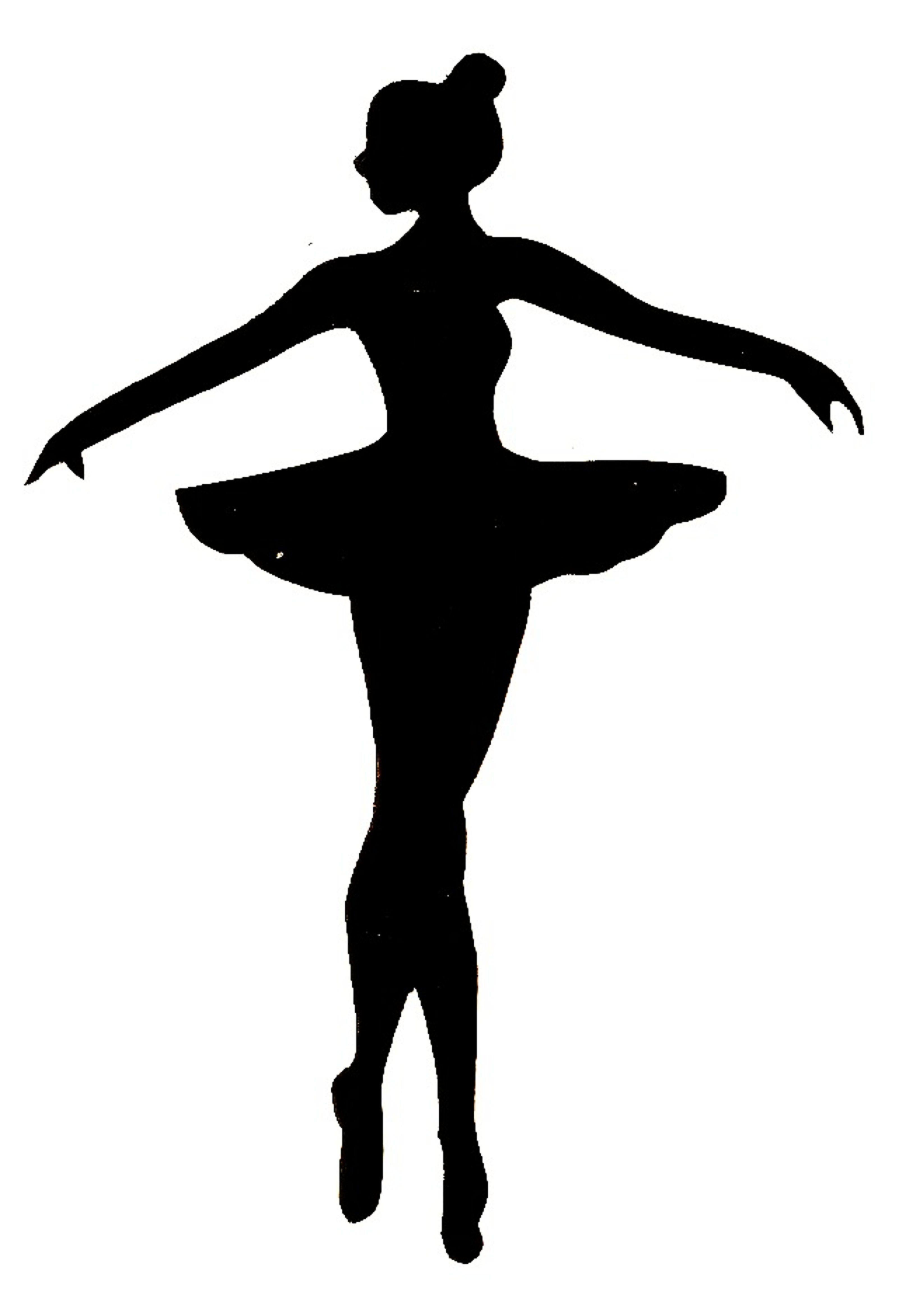 ballerina silhouette template google search esther ballerinas