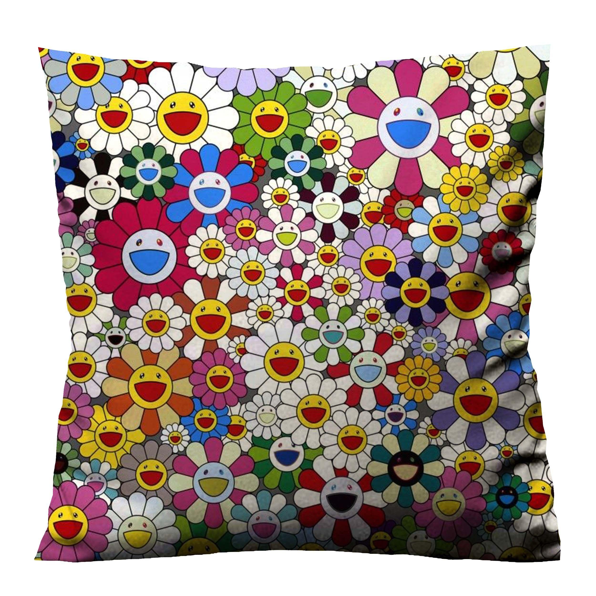 TAKASHI MURAKAMI NEW Cushion Case Cover Casefine