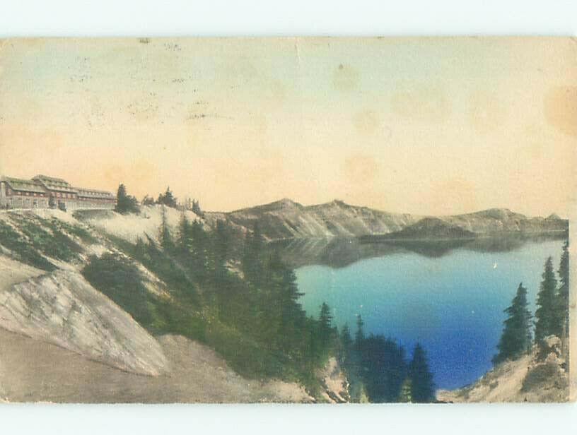 1920's CRATER LAKE SCENE - Near Medford Oregon OR AE5245 | eBay